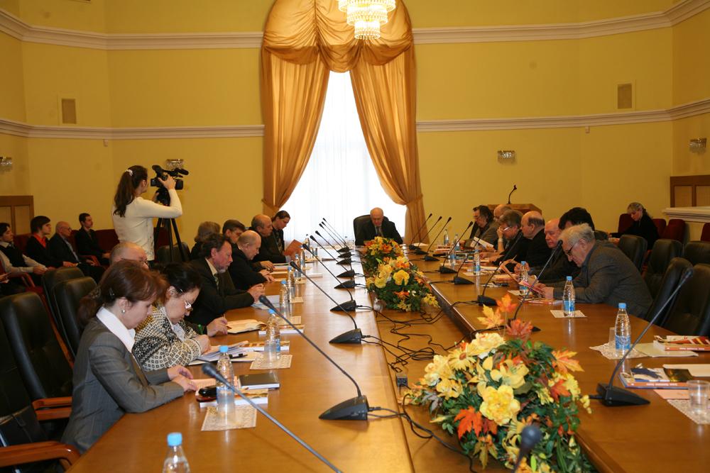 XXI заседание Русского интеллектуального клуба