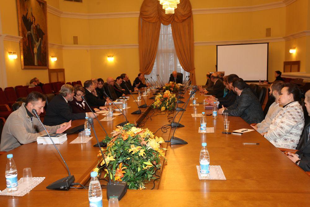 26-е заседание Русского интеллектуального клуба